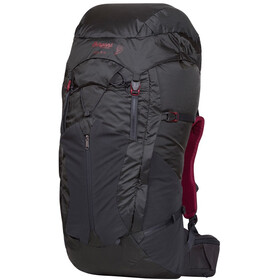Bergans W's Senja 55 Backpack Solid Charcoal/Burgundy